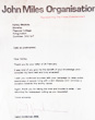 Letter from Carol Vorderman